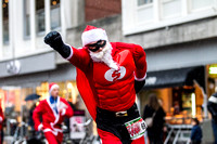 Santa Run for Serious Request 21 december 2013